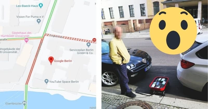 Google apreció al hombre que engañó a sus mapas con 99 teléfonos inteligentes