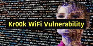 Kr00k Wifi Vulnerability