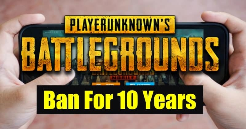 PUBG Player Tricked Game as Connection Error and Banned for 10 Years