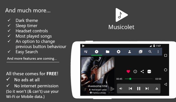Musicolet Music Player
