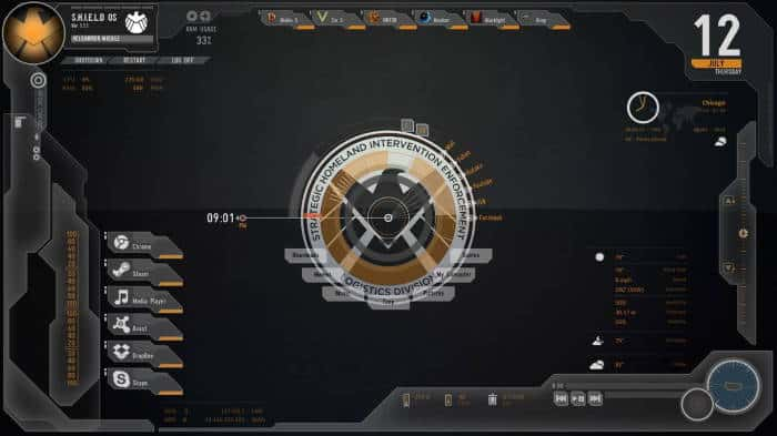 Avengers Shield OS
