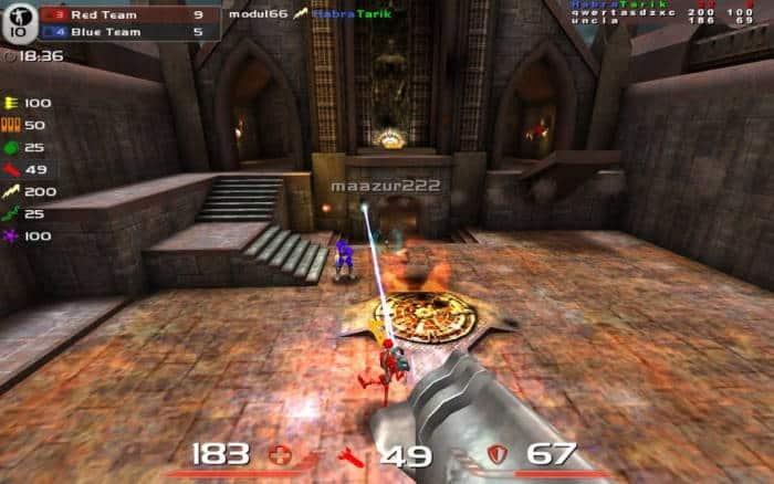 Quake Live/Arena
