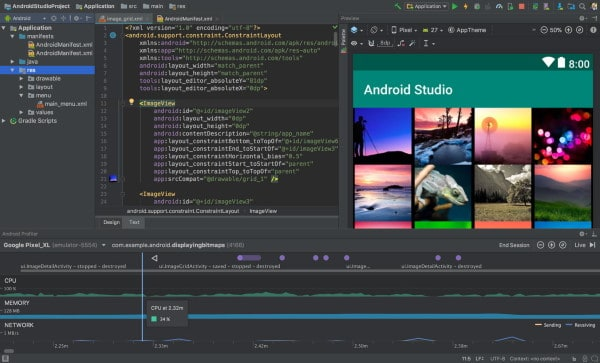 Estudio de Android