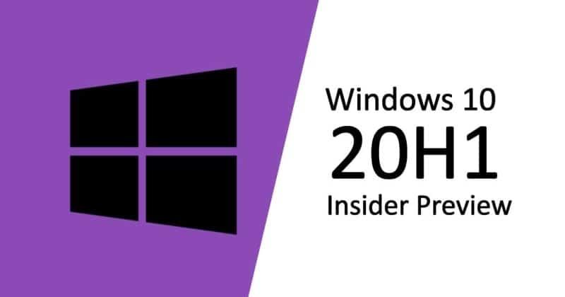 Windows 10 20H1 build 19041