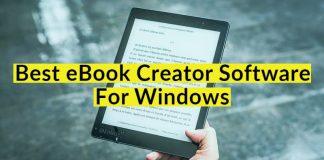 Best Free eBook Creator Software