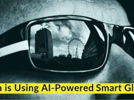Chinese Firm Uses AI Glasses to Detect Potential COVID-19 Patients