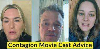 Contagion Cast Advises Public to Follow Health Protocols