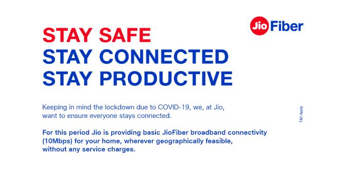 JioFiber For Free