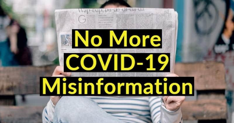 No More Coronavirus Misinformation