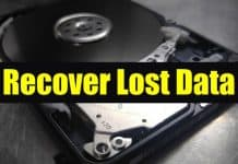 Recover Lost Data with EaseUS Data Recovery