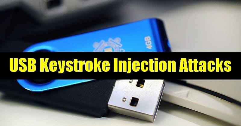 Prevent From USB Keystroke Injection Attacks