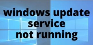 Windows Update Service Not Running On Windows 10