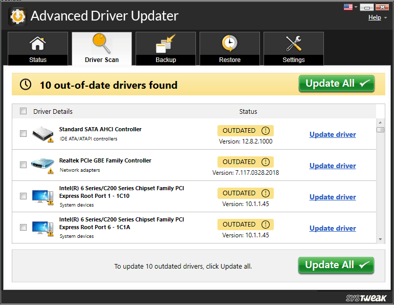 Advanced Driver Update