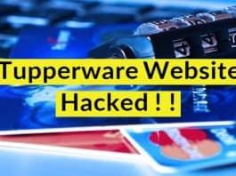 Tupperware website hacked
