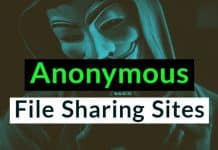 Anonymous File Sharing Sites