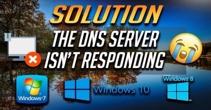"""أفضل الطرق لإصلاح """"خادم DNS لا يستجيب"""" في نظام التشغيل Windows 10"""