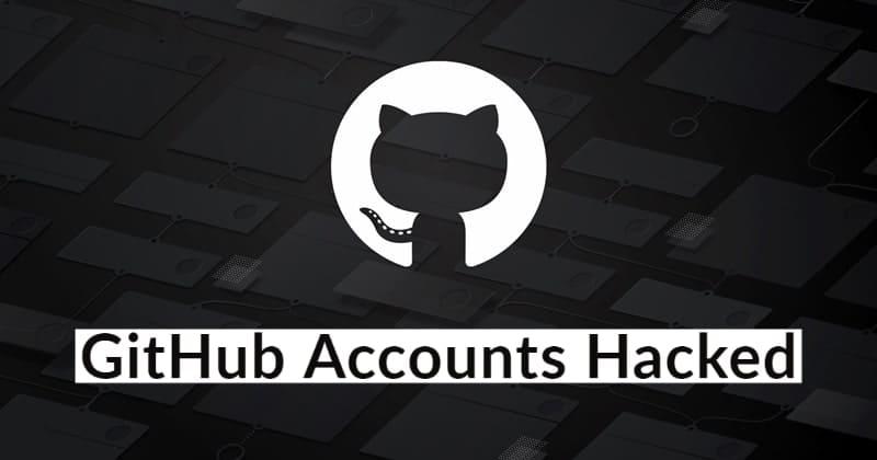 Cuentas de GitHub pirateadas