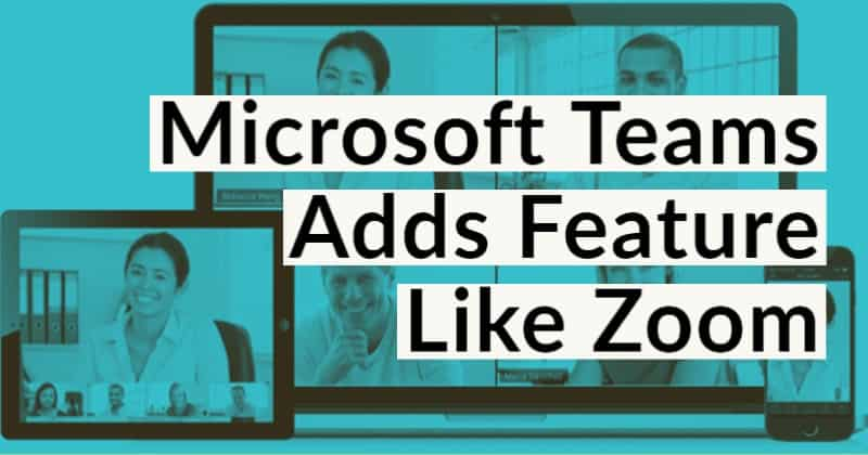 Microsoft Teams Allow Users To Set Custom Backgrounds as Like Zoom