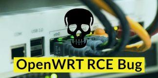 OpenWRT RCE Bug