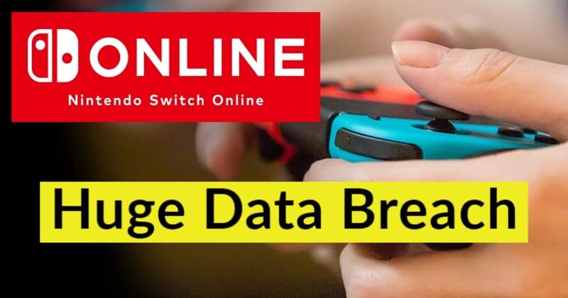 Nintendo Switch Online Data Breach