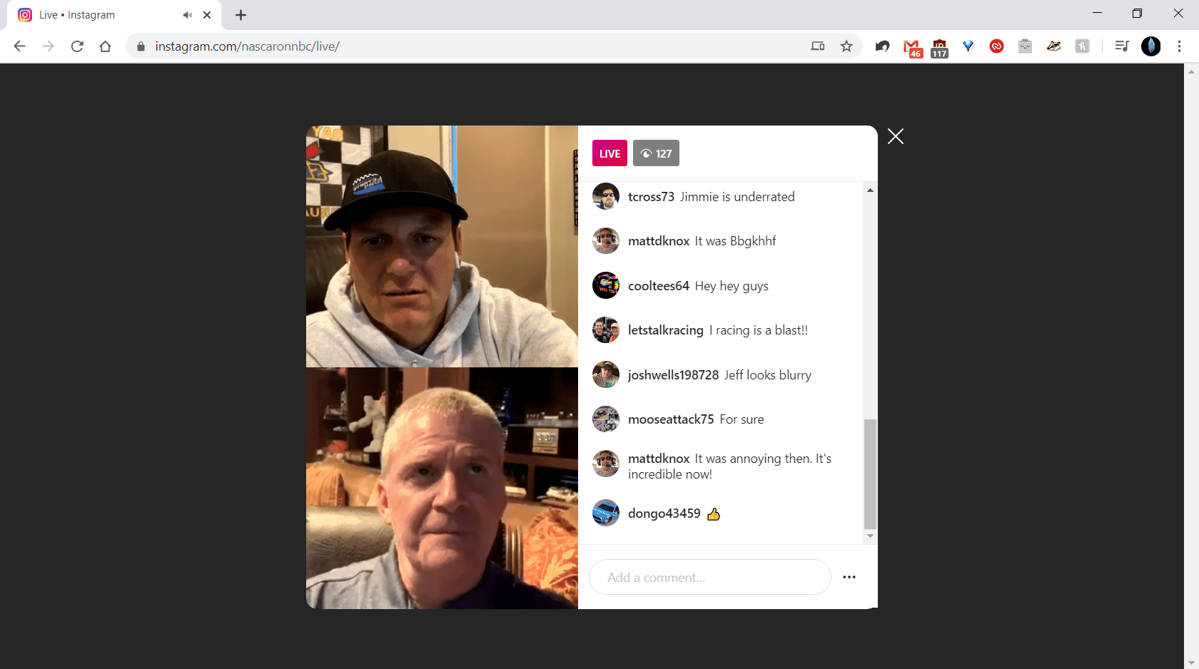 New Web version of Live Streaming