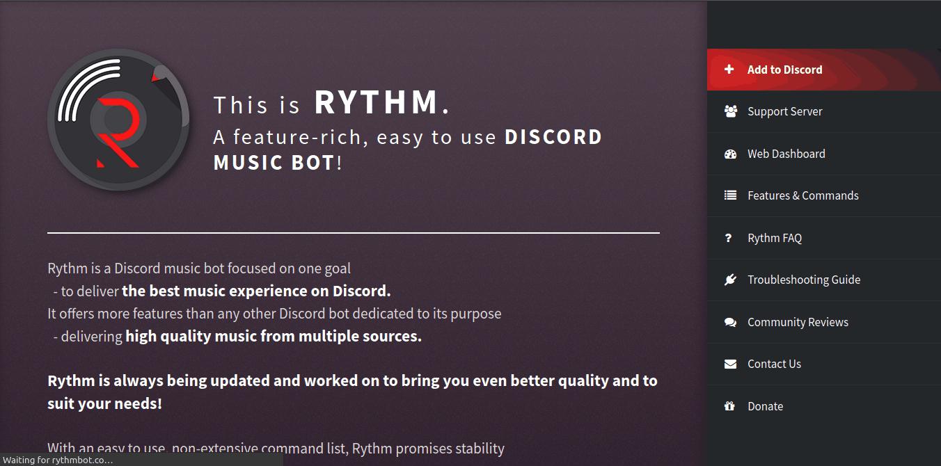 Rhythm Bot