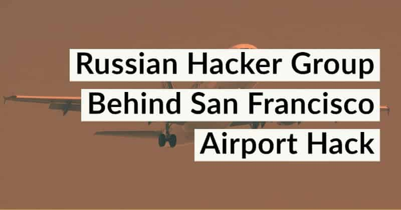 San Francisco Airport Hack