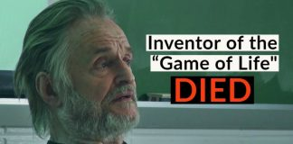The inventor of the Game of Life has Died