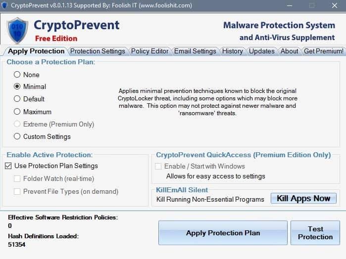 Crypto Prevent