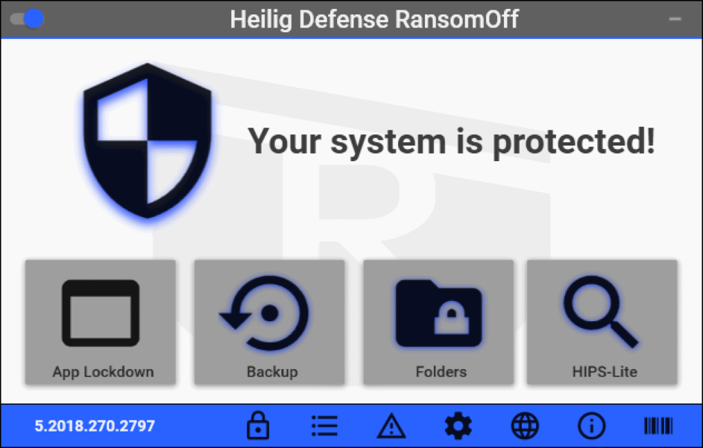 Heilig Defense RansomOff