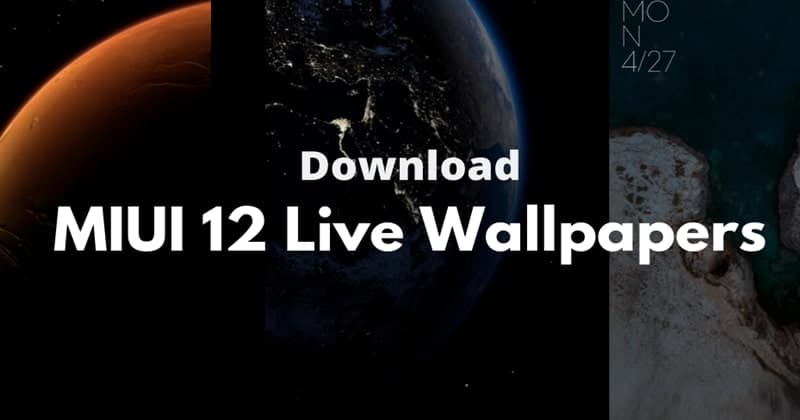 Descargar MIUI 12 Super Wallpapers para todos los dispositivos Android