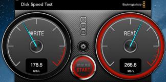 Run SSD Speed Test