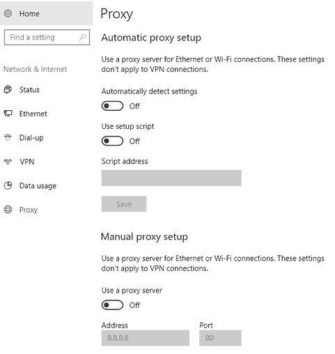 Using Windows 10 Settings App