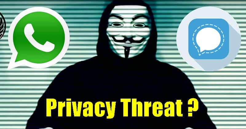 Why Anonymous Recommends Signal and Telegram Over WhatsApp?