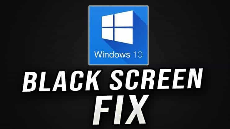 Fix Black Desktop Screen On Windows 10