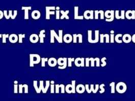 Fix Language Issues For Non-Unicode Program