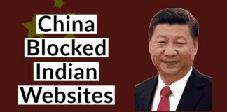 China Blocks Indian Websites