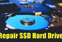 Check & Repair SSD Hard Disk