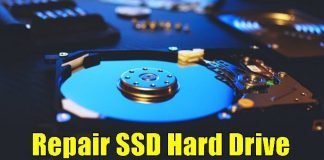 Check & Repair SSD Hard Disk