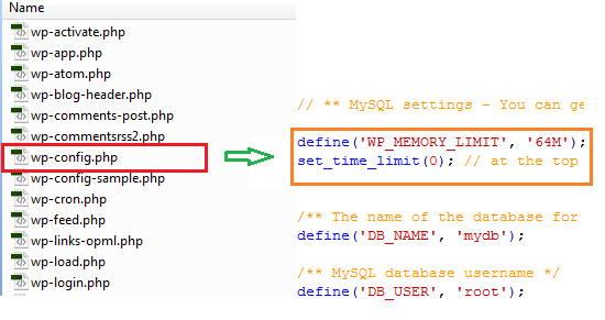 Increasing PHP memory limit