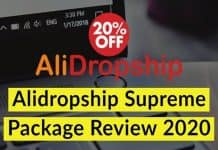 AliDropship Supreme Package Review