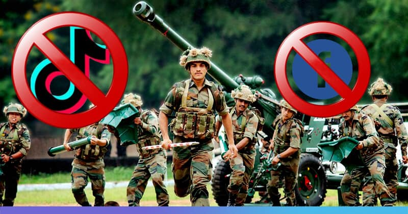 Indian Army Bans 89 Apps Including TikTok, Instagram, and Facebook