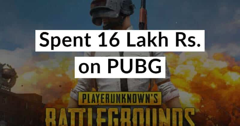 Indian Kid Spent Rs. 16 Lakh From His Parents Accounts For PUBG Items