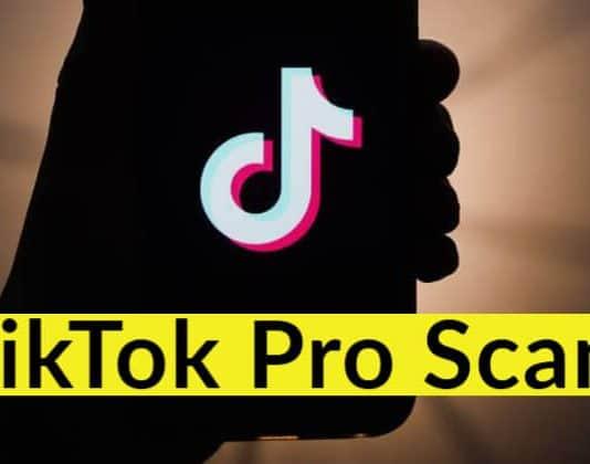 TikTok Pro Scam