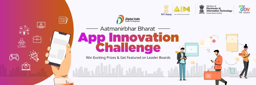 Narendra Modi Launches Aatmanirbhar Bharat App Innovation Challenge