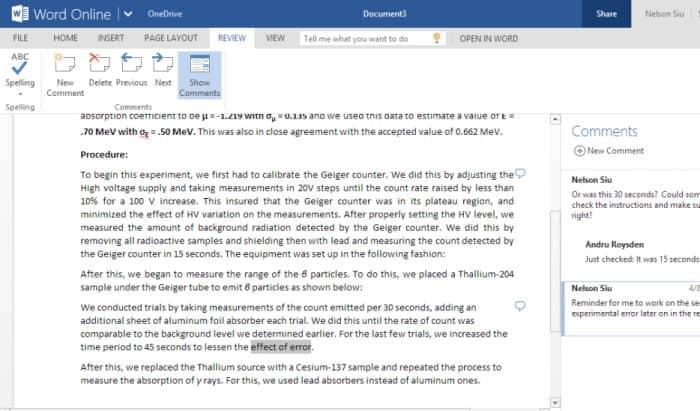 Microsoft Office en línea