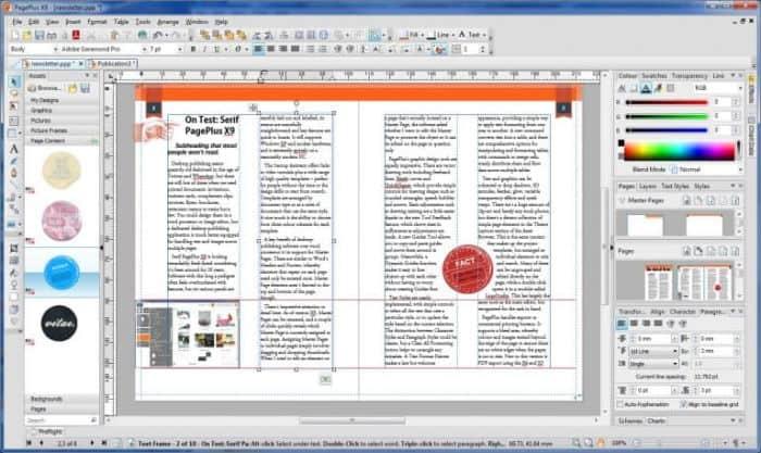 Serif Page Plus