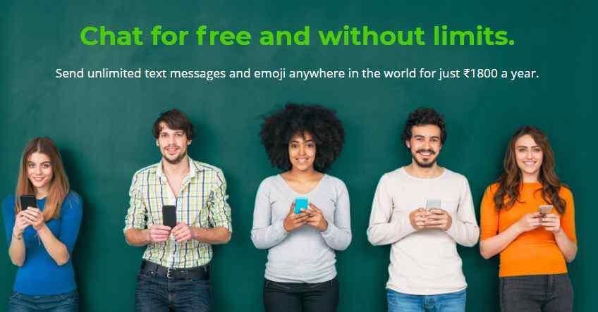 كيفية استخدام واتساب بدون انترنت؟
