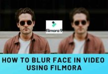 How To Blur Face in Video Using Filmora