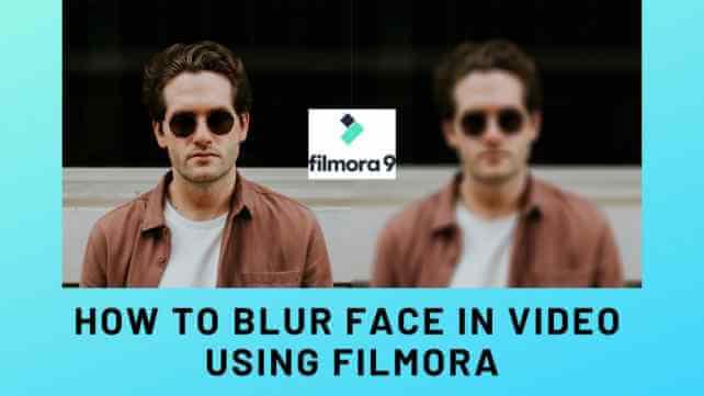 Cómo desenfocar la cara en un video con Filmora